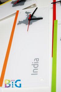 Дизайн на стенни часовници www.bigprint.bg