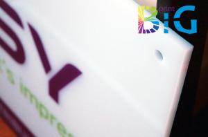 Директен UV печат върху плексиглас