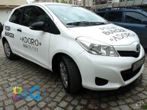 Изработка на надписи за коли