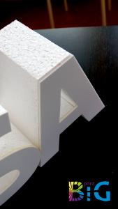 Несветещи обемни букви