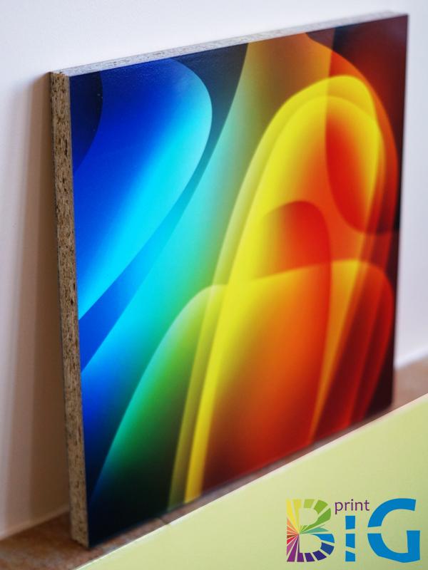 ПДЧ напечатано с UV мастила за директен печат на плоскости www.bigprint.bg